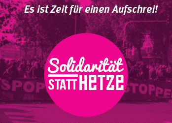 Veranstaltungsreihe gegen die AfD in Hamburg