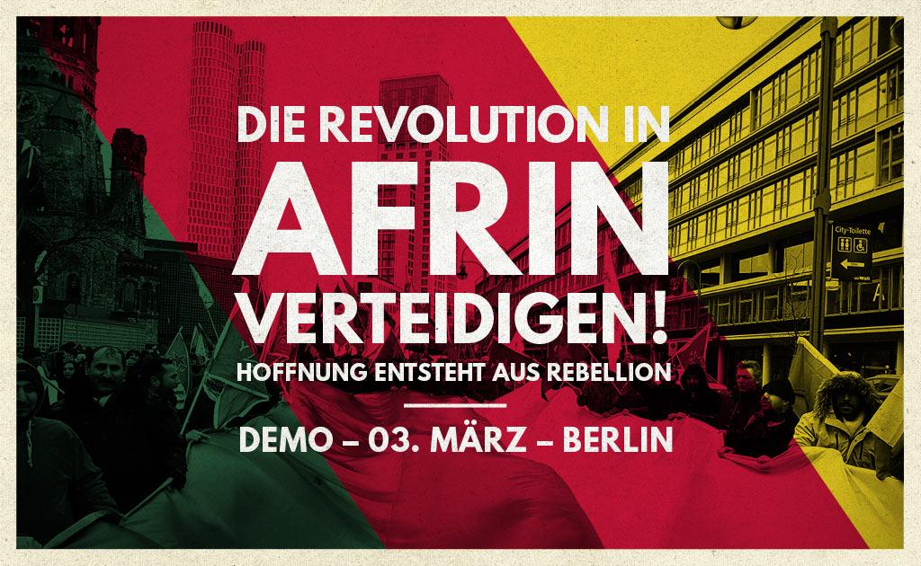 Die Revolution in Afrin verteidigen