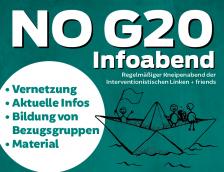 No-G20-Infoabend und IL-Kneipe in Hamburg