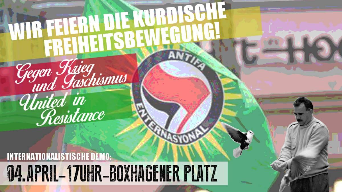 Wir feiern die kurdische Freiheitsbewegung!