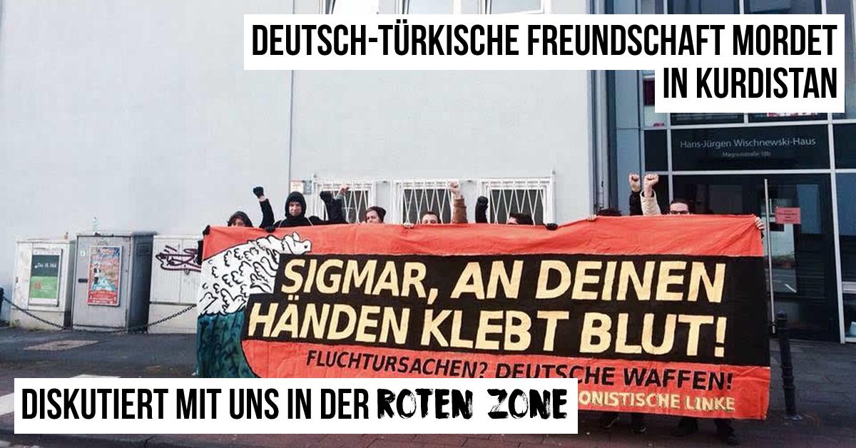 Rote Zone: Deutsch-Türkische Freundschaft mordet in Kurdistan