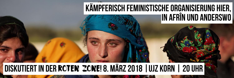 Rote Zone im März 2018