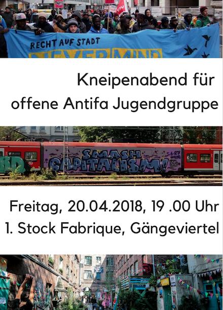 Jugend Antifa Gruppe Gängeviertel