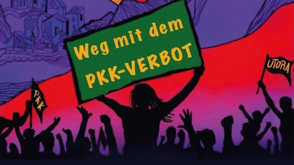 Demo gegen PKK-Verbot