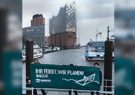 Elbphilharmonie in Hamburg, Protest gegen G20