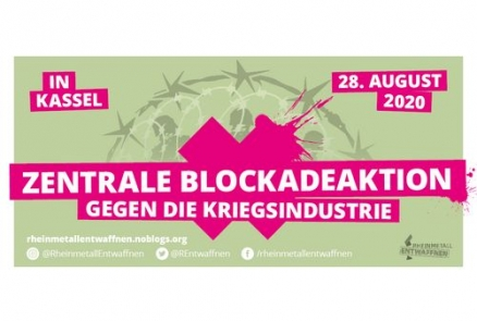 Zentrale Blockadeaktion am 28.8. in Kassel