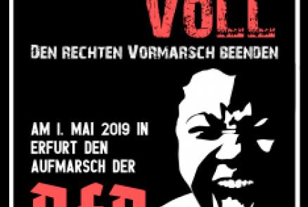 Am 1. Mai nach Erfurt - AFD-Aufmarsch verhindern!