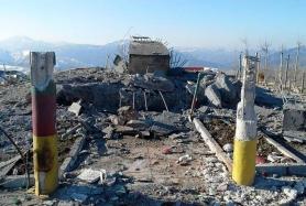 Der zerstörte Friedhof