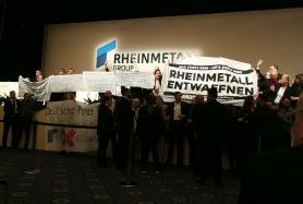 Rheinmetall Entwaffnen: Hauptversammlung 2019 gestört