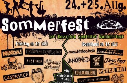 Flyer Sommerfest 2018 SZ Norderstedt