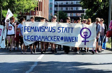 Feminismus statt Legida