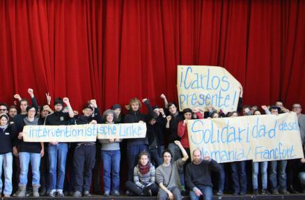 Solidarität Kolumbien