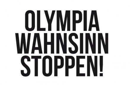 Olympia-Wahnsinn stoppen
