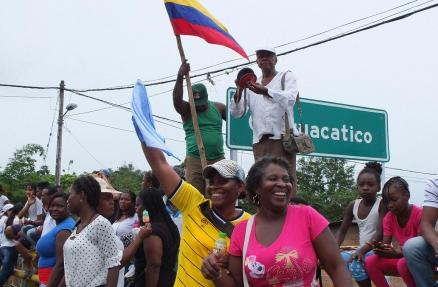 Kolumbien Generalstreik 2017 Colombia huelga general