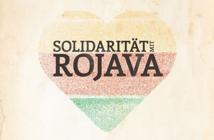 Solidarität mit Rojava!