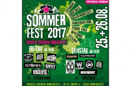 Sommerfest Flyer 2017