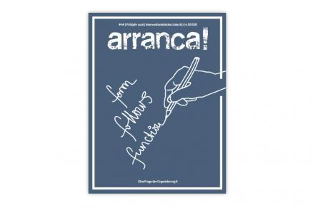Cover der arranca! #49: Form follows function