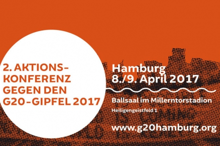 G20 Aktionskonferenz am 8./9. April 2017 in Hamburg