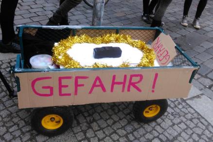 Achtung! Gefahrengebiet Berlin-Friedrichshain