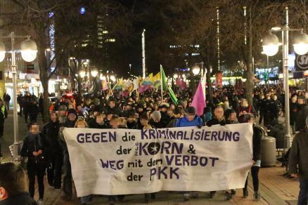 Hannover: Demo wegen Kornrazzia 12.02.2016