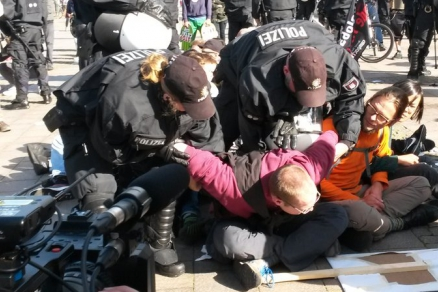 Polizeistaat vor dem G20-Gipfel