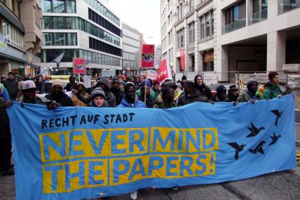 Demo never mind the papers