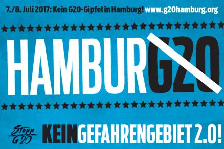 Großdemonstration gegen den G20-Gipfel – 8.7.2017 Hamburg