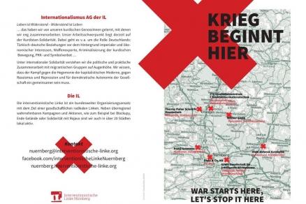 Krieg beginnt hier - in Nürnberg