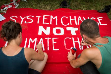 System Change not Climate Change Ende Gelände