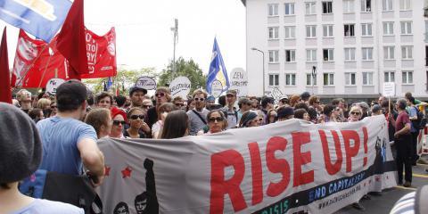 Blockupy-Demo