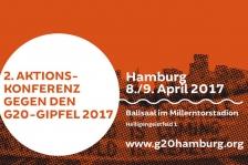 G20 Aktionskonferenz am 8./9. April 2017 in Hamburg