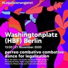Legalisierung jetzt!